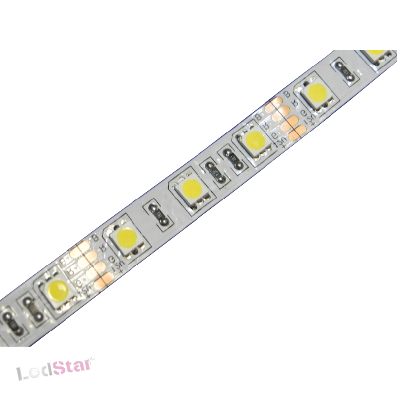 12 Volt High Power LED Strip Weiss 300 x 5050 PLCC6 Chip 5m