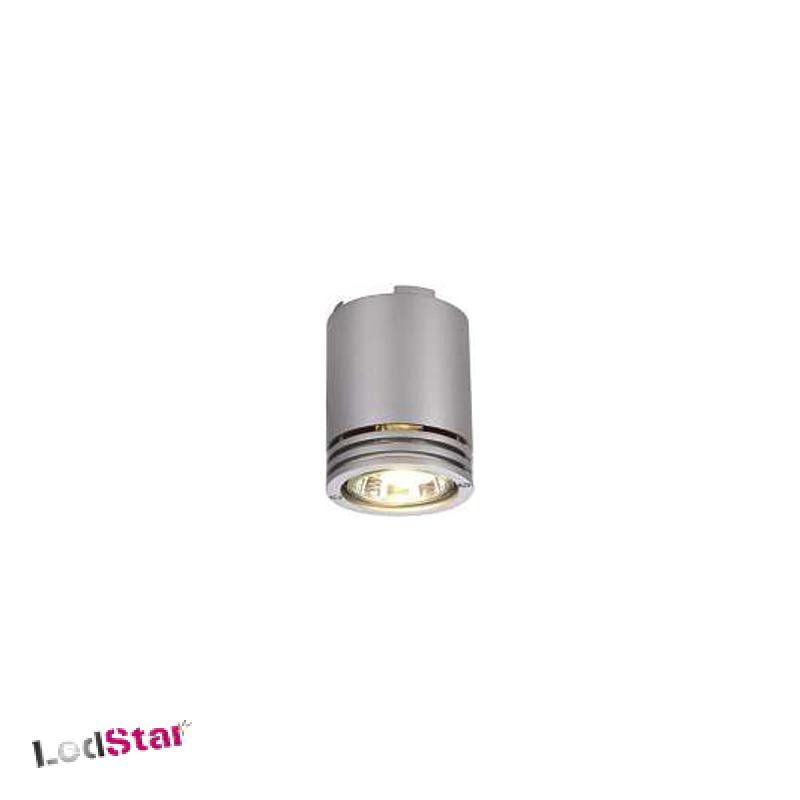Barro Design by FGL Single Deckenlampe aus Aluminium GU 10 Silbergrau
