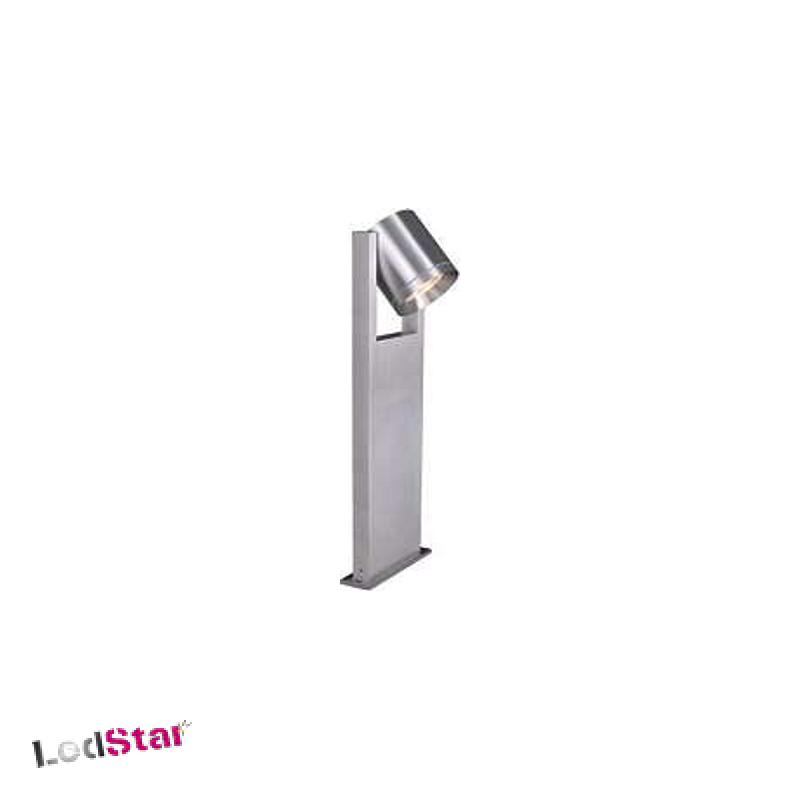 ROX PATH Gartenlampe aus Aluminium Druckguss GU10 alu brushed