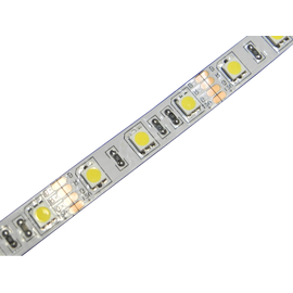 24 Volt High Power LED Strip Weiss 300 x 5050 PLCC6  Chip...