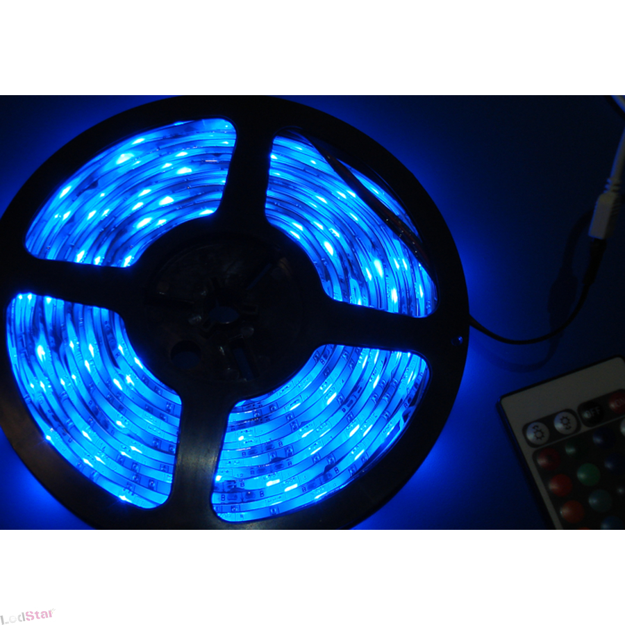 led strip blau 5m 300 x 5050 led wasserfest chf. Black Bedroom Furniture Sets. Home Design Ideas