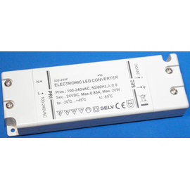 LED Converter 24V DC, 20Watt
