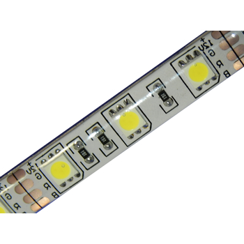 12 Volt High Power LED Strip Weiss 300 x 5050 PLCC6 Chip 5m wasserfest