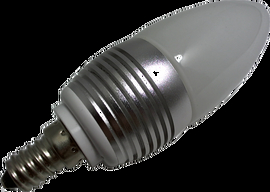 Power LED Lampe E14 3x1Watt - warmweiss dimmbar