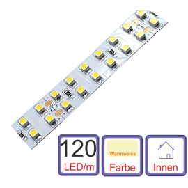 LED  Strip Warmweiss 5m 1200 x SMD LED 24 Volt