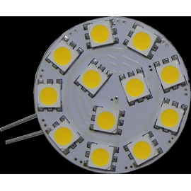 G4 LED Modul 12 5050 Chips Warmweiss